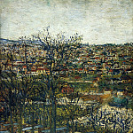 Maurice Utrillo - Benches at Montmagny Val dOise 1906 07