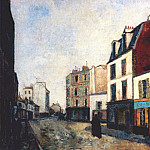 Морис Утрилло - utrillo_paintshop_at_saint_ouen_1909