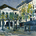 Maurice Utrillo - The Theatre de lAtelier 1913