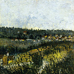 Maurice Utrillo - Near Montmagny 1908