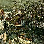 Maurice Utrillo - The Berlioz House 1917