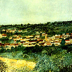 Maurice Utrillo - View of Montmagny 1903