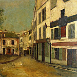 Maurice Utrillo - Place du Tertre in Montmartre 1910