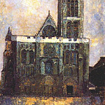 Maurice Utrillo - utrillo_basilica_of_st_denis_c1908