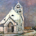 Maurice Utrillo - utrillo_church_at_deuil_1912