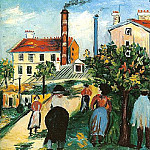 Maurice Utrillo - Terrains а vendre а Gentilly 1922