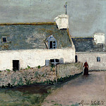 Maurice Utrillo - Farm on LIle dOuessant Finistere 1910 11