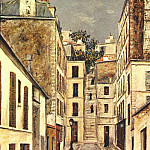 Maurice Utrillo - utrillo_passage_cottin_c1910