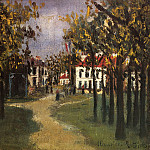 Maurice Utrillo - La Butte Pinson a Montmagny 1910