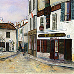 Maurice Utrillo - Mother Catherines Restaurant in Montmartre 1917