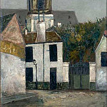 Maurice Utrillo - Chuch of Saint Margerit in Paris 1910