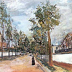 Maurice Utrillo - Street In The Suburbs