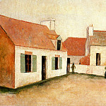 Maurice Utrillo - House on the Isle of Ouessant Brittany