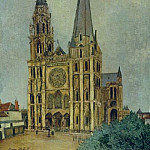 Maurice Utrillo - Chartres Cathedral 1913