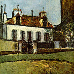 Maurice Utrillo - House in the Suburbs of Paris 1910