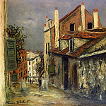 Maurice Utrillo - The House of Mimi Pinson in Montmartre 1915