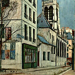 Maurice Utrillo - Church of St Severin