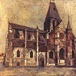 Maurice Utrillo - utrillo_church_at_villiers_le_bel_1909