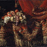 Johan Baptista van Uther - Sumptuous Still Life with Fruit