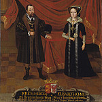 Unknown painters - Portraits of Duke Erik I of Brunswick-Calenberg and Duchess Elisabet, Princess of Brandenburg