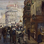 Unknown painters - A Working Day in Paris