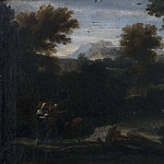 Lucas van Valckenborch - Landscape with the Flight into Egypt