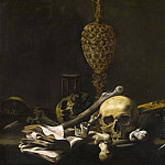 Unknown painters - Vanitas Still Life