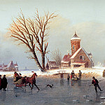 Unknown painters - Winterland scape