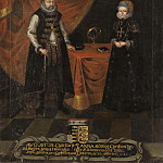Unknown painters - August (1526-1586), Prince of Saxony, Anna (1532-1585), Princess of Denmark