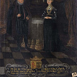 Unknown painters - Philip (1504-1567), Landgrave of Hessen-Kassel. Kristina (1505-1549), Princess of Saxony