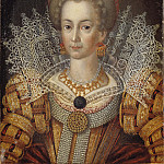 Unknown painters - Unknown woman, formerly known as Cecilia Vasa (1540-1627), Princess of Sweden