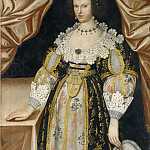 Unknown painters - Unknown woman called Anna Princess of Sweden