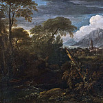 Unknown painters - Landscape with a Village