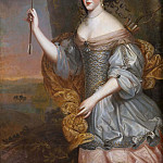 Unknown painters - Elizabeth Mademoiselle of Alenson (1646-1696)