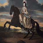 Francesco Trevisani - Hedvig Sofia, 1681-1708, Princess of Sweden Duchess of Holstein-Gottorp