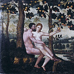Unknown painters - Adam and Eve