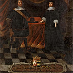 Unknown painters - Fredrik III (1597-1659), Duke of Holstein Gottorp and Maria Elisabet (1610-1684), Princess of Saxony