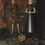 Lucas van Uden - Adolf (1526-1586), Duke of Holstein, Kristina (1543-1604), Princess of Hessen-Kassel