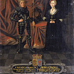 Adolf Ulrik Wertmüller - Fredrik I (1471-1533), King of Denmark and Norway and Anna, (1487-1514), Princess of Brandenburg