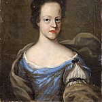 Gottfrid Virgin - Unknown woman, probably Maria Elisabet (1678-1755), Princess of Holstein-Gottorp