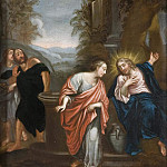 Unknown painters - Christ and the Samaritan woman