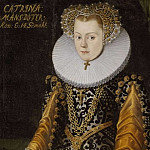 Unknown painters - Unknown woman, formerly called Elizabeth (1549-1597), Princess of Sweden, Duchess of Mecklenburg