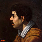 Diego Rodriguez De Silva y Velazquez - Male head in profile