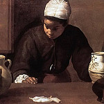 Diego Rodriguez De Silva y Velazquez - Supper at Emmaus