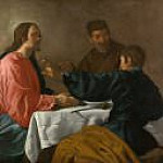 The Supper at Emmaus, Diego Rodriguez De Silva y Velazquez