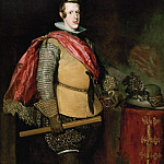 Diego Rodriguez De Silva y Velazquez - Philip IV, King of Spain