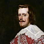 Portrait of Philip IV in an army uniform, Diego Rodriguez De Silva y Velazquez