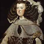 Portrait of Mariana of Austria, Queen of Spain, Diego Rodriguez De Silva y Velazquez