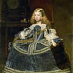 Diego Rodriguez De Silva y Velazquez - The Infanta Margarita Teresa in a Blue Dress