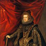 Diego Rodriguez De Silva y Velazquez - Dona Maria, Infanta of Spain [workshop]